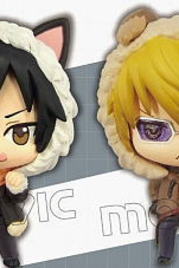 Color Collection Durarara!!x2 Set (Orihara Izaya & Heiwajima Shizuo) (PVC Figure) Movic Durarara!!x2