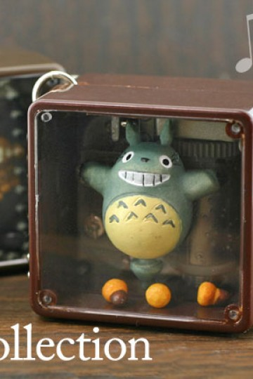 Strapya World : Studio Ghibli My Neigbhor Totoro Petite Music Box Ball Chain (Totoro)【CHRISTMAS-004】