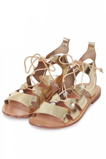 FIG Lace-Up Sandals - New In This Week - New In - Topshop Singapore