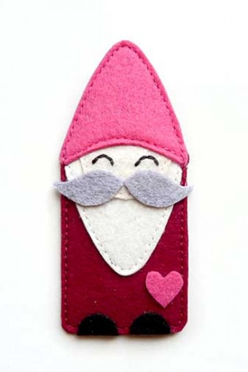 littleoddforest | Moustachy Gnome Pin Brooch