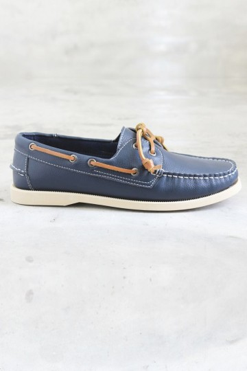 Genuine Leather Classic Boat Shoe