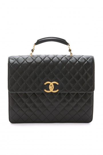 Chanel Quilted Briefcase (Previously Owned)