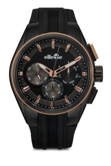 Men's Silicon Strap Quartz Analogue Multi-function Watch