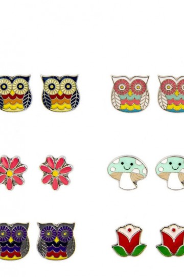 Loungefly Owl Earring Set | Little Moose | Cute bags, gifts, toys, jewellery and accessories from independent designers and famous brands