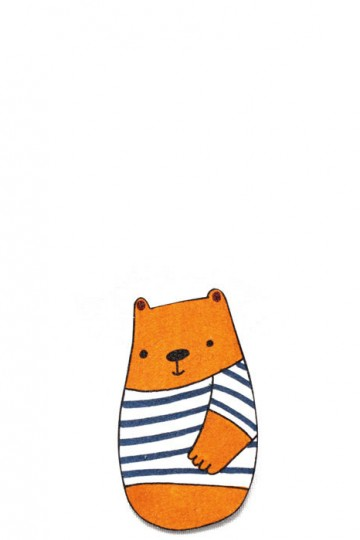 Sailor Bear brooch by Ulla Saar | Little Moose | Cute bags, gifts, toys, jewellery and accessories from independent designers and famous brands