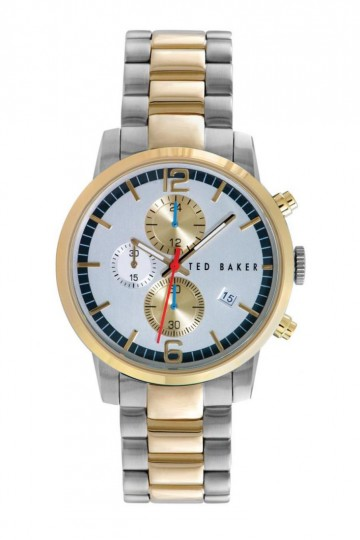 Ted Baker Two-Tone Chronograph Bracelet Watch