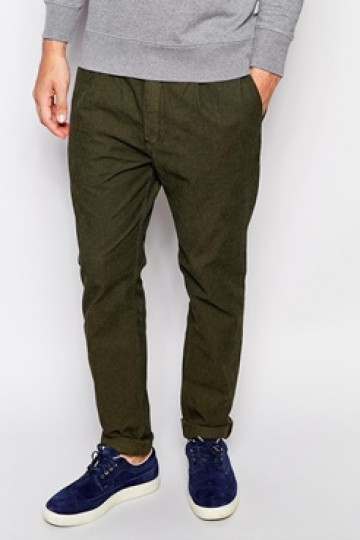 Paul Smith Jeans Slim Trousers with Single Pleat
