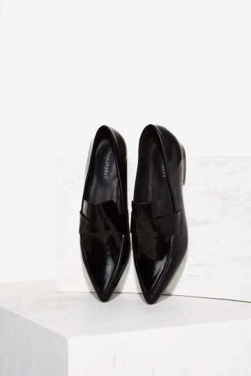 Jeffrey Campbell Belanger-2 Leather Flat