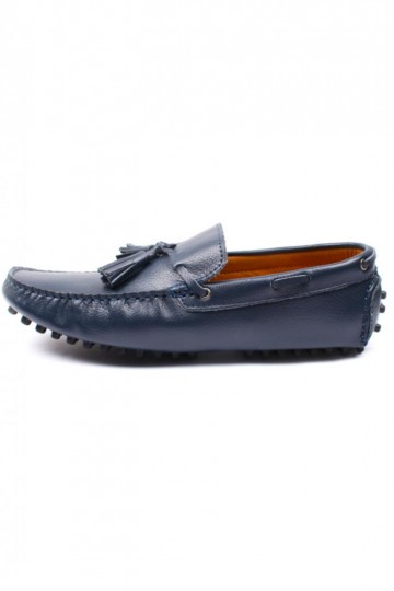 Genuine Leather Driving Loafer