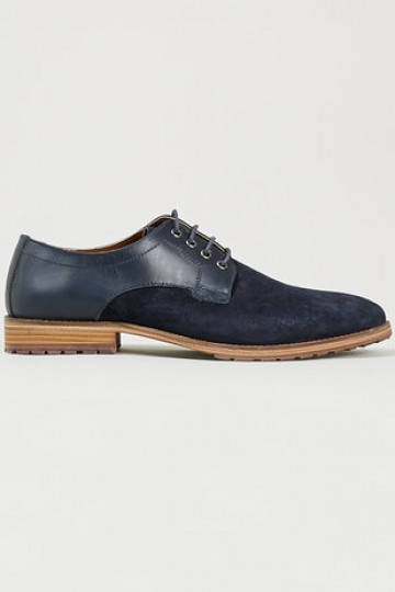 'Morris Mix Cleat' Navy gibson shoes - New This Week - New In - TopMan Singapore