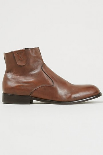Hudson 'Haxton' Tan Leather double-panel boots - Casual Boots - Boots - Shoes and Accessories- TopMan Singapore