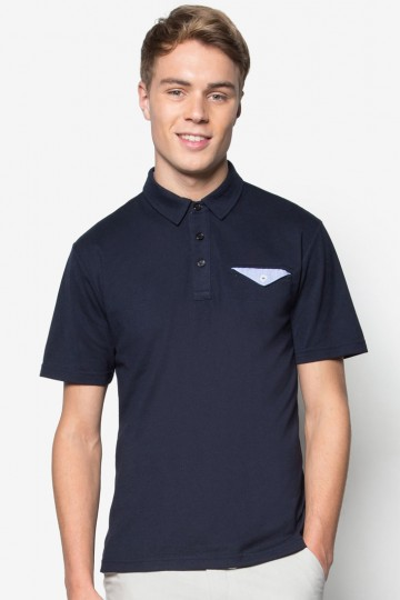 Polo With Flap Pocket