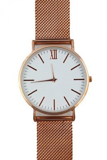 The Mesh Watch - Rose Gold Steel