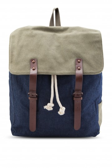Canvas Mixed Backpack