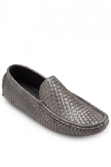 France Collection Weave Loafers