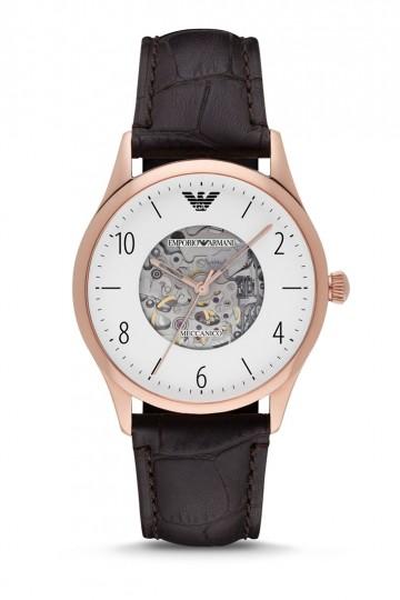 Armani Dark Brown Leather Watch AR1920