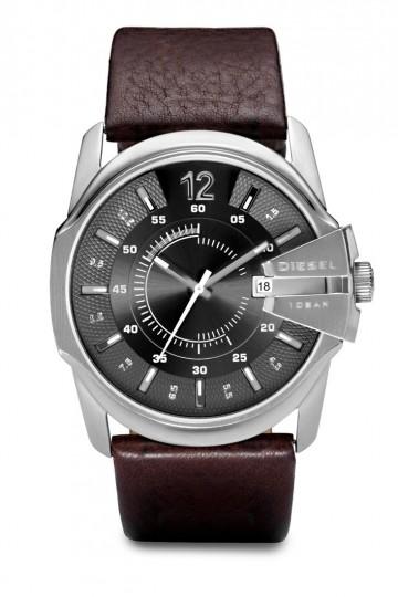 Diesel Master Chief Dark Brown Leather Watch DZ1206