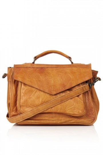 Leather Embossed Satchel - New In This Week - New In - Topshop Singapore