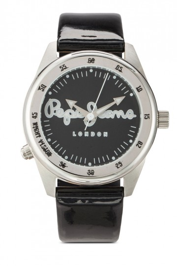 Pepe Jeans Disco-Tech Men's Leather Strap Watch R2351118008