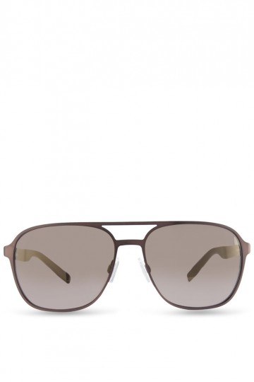 Metal with Back Rim Soldered Temples Sunglasses
