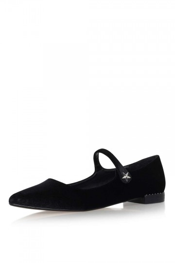 **Kingdom Black Flat Court by KG Kurt Geiger