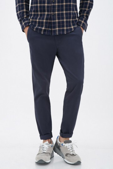Four-Pocket Cotton Chinos