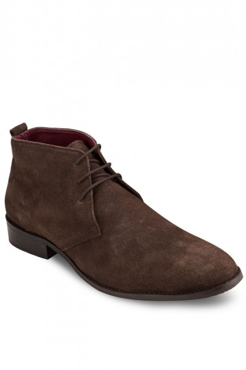 Leather Lace Up Chukka Boots