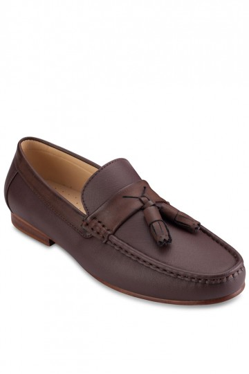 Mixed Material Loafer