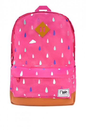 Raindrops Clouds Backpack