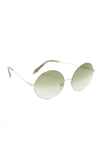 Feather Light Round Sunglasses