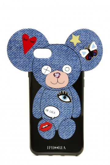 Teddy Jeans Patches iPhone 7 Case
