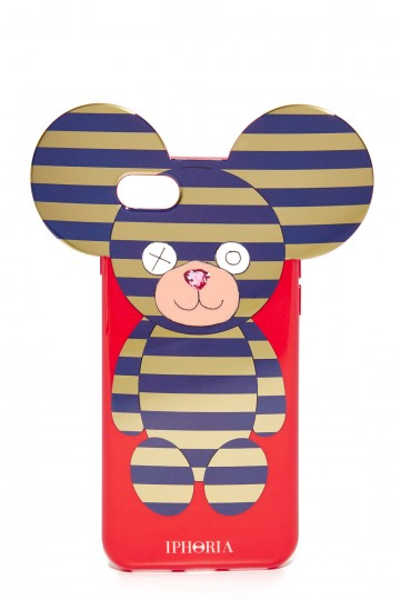 Teddy Stripes iPhone 7 Case