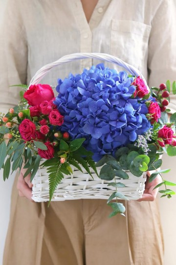 Fresh Flowers Basket Arrangement Workshop | 30 Apr 2017 | 2pm
