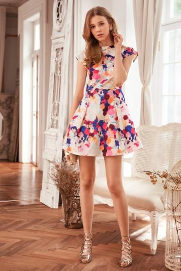 Grande Printed Dress