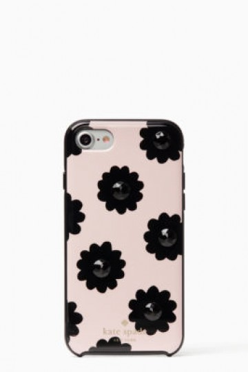jeweled brush floral iphone 7 case