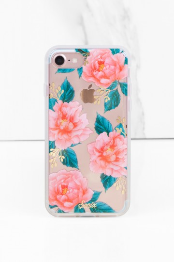 Sonix Cases Sonix Ballie Pink Floral Print iPhone 7 Case in Pink