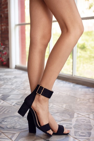 Kason Heels in Black