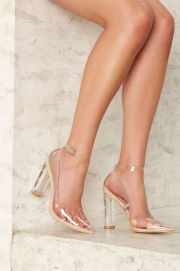 Starting Point Clear Heel
