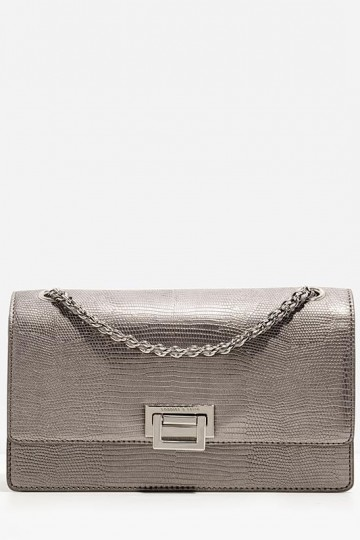 WEAVE CHAIN SHOULDER BAG