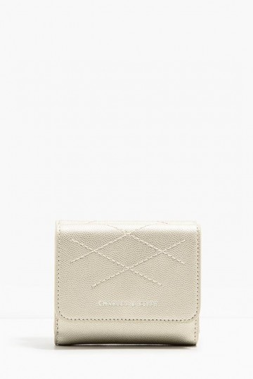 STITCHED SQUARE WALLET