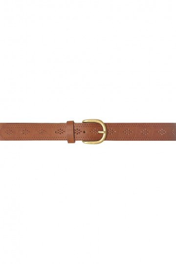 Tan Punch-Out Update Belt
