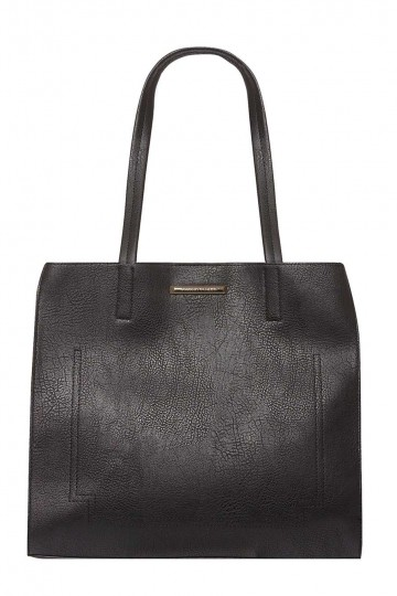 Black Wing Shopper Bag