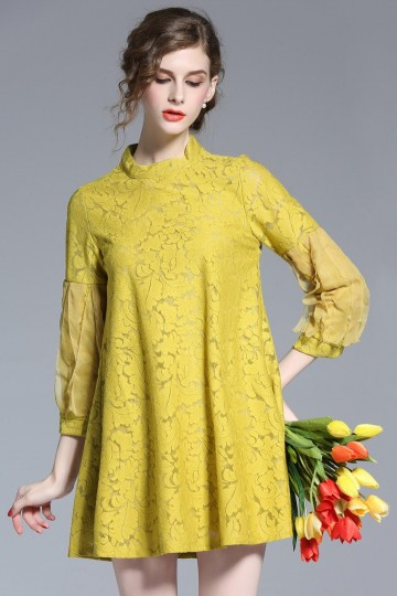 Clemence Lace Dress (More Colors)