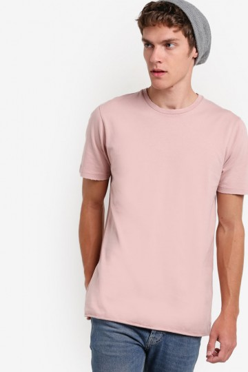 Pink Nibble Neck T-Shirt